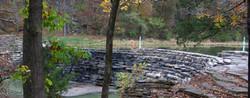 Dam on  Lee Creek
