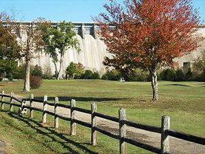 Fall picture below Bull Shoals Dam