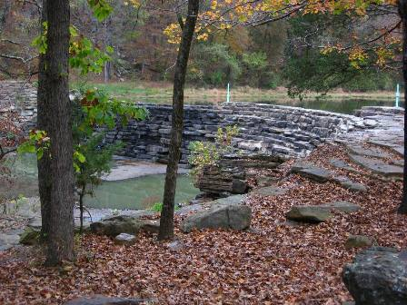 CCC Dam on Lee Creek