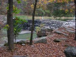 CCC Dam on Lee Creek