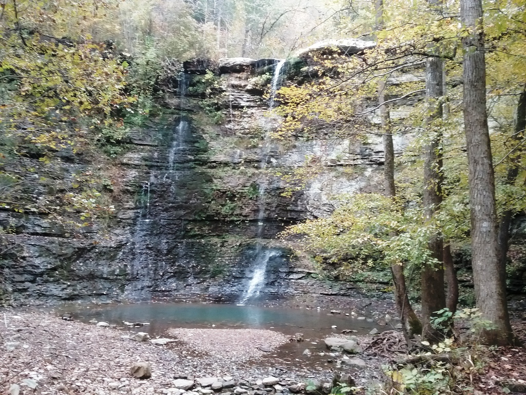 Fall view of Twin Falls