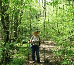 Arlene on Trail