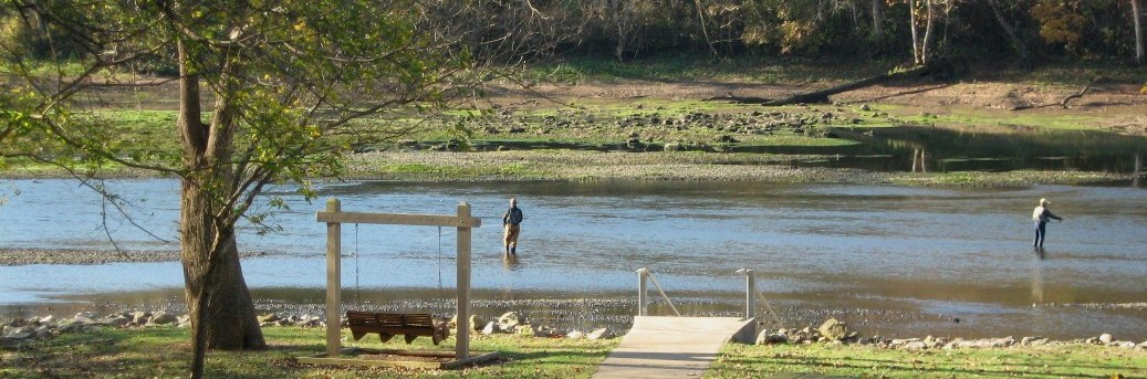 Fly Fishing in the White River