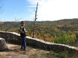 Dick at the Overlook Point