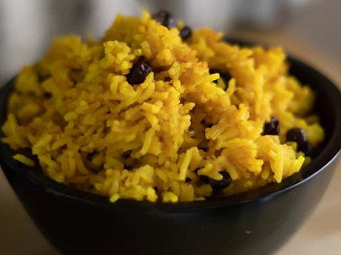 Yellow rice with raisins (long grain) 250ml