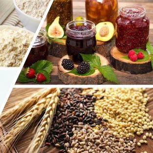 Vegan, Flours & Preserves
