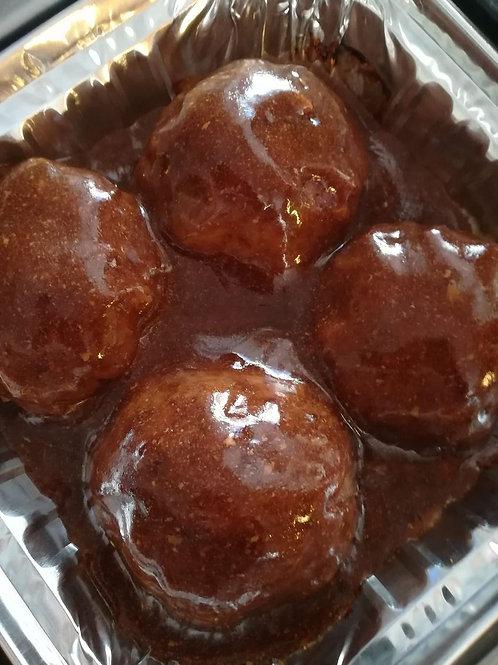 Meatballs in Gravy (4)