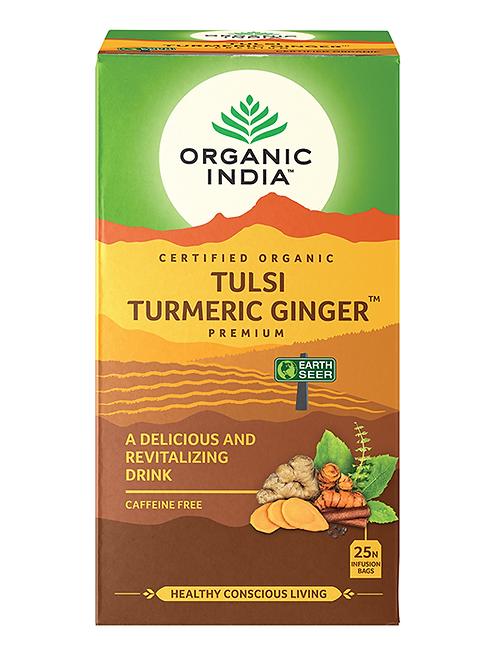 Tulsi Tea Turmeric and Ginger 25s