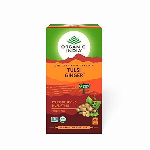 Tulsi Tea Ginger 25s