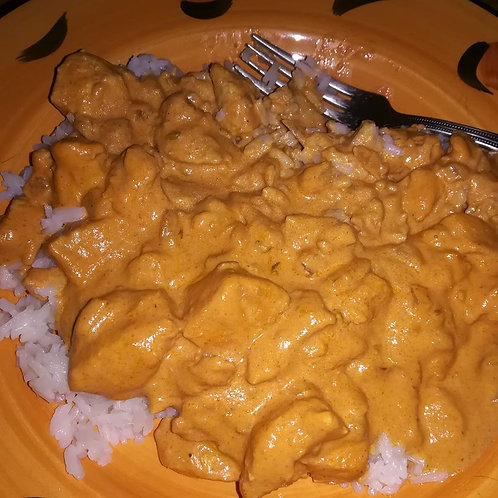 Butter Chicken with Basmati Rice Medium