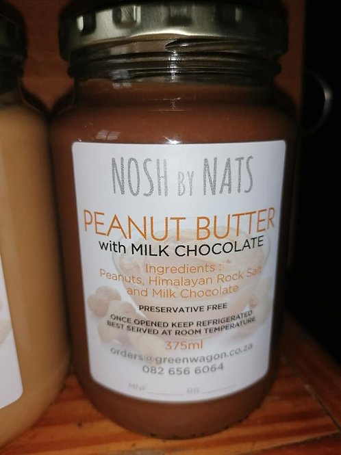 Peanut Butter with Milk Chocolate 400g