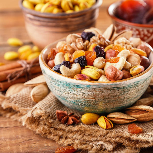 Fruits, Nuts & Seeds
