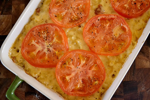 Mac & Cheese with tomato Large