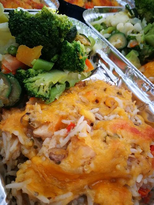Basmati, Chicken and Corn casserole 480g
