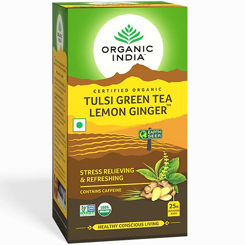 Tulsi Tea Lemon and Ginger 25s