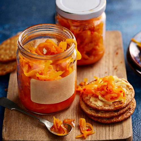 Chilli and Carrot Chunky chutney 375ml