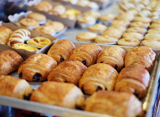 French Pastries at Parthenay Market