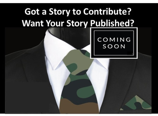 Interested in Being a Part of This Special Military Book Project?