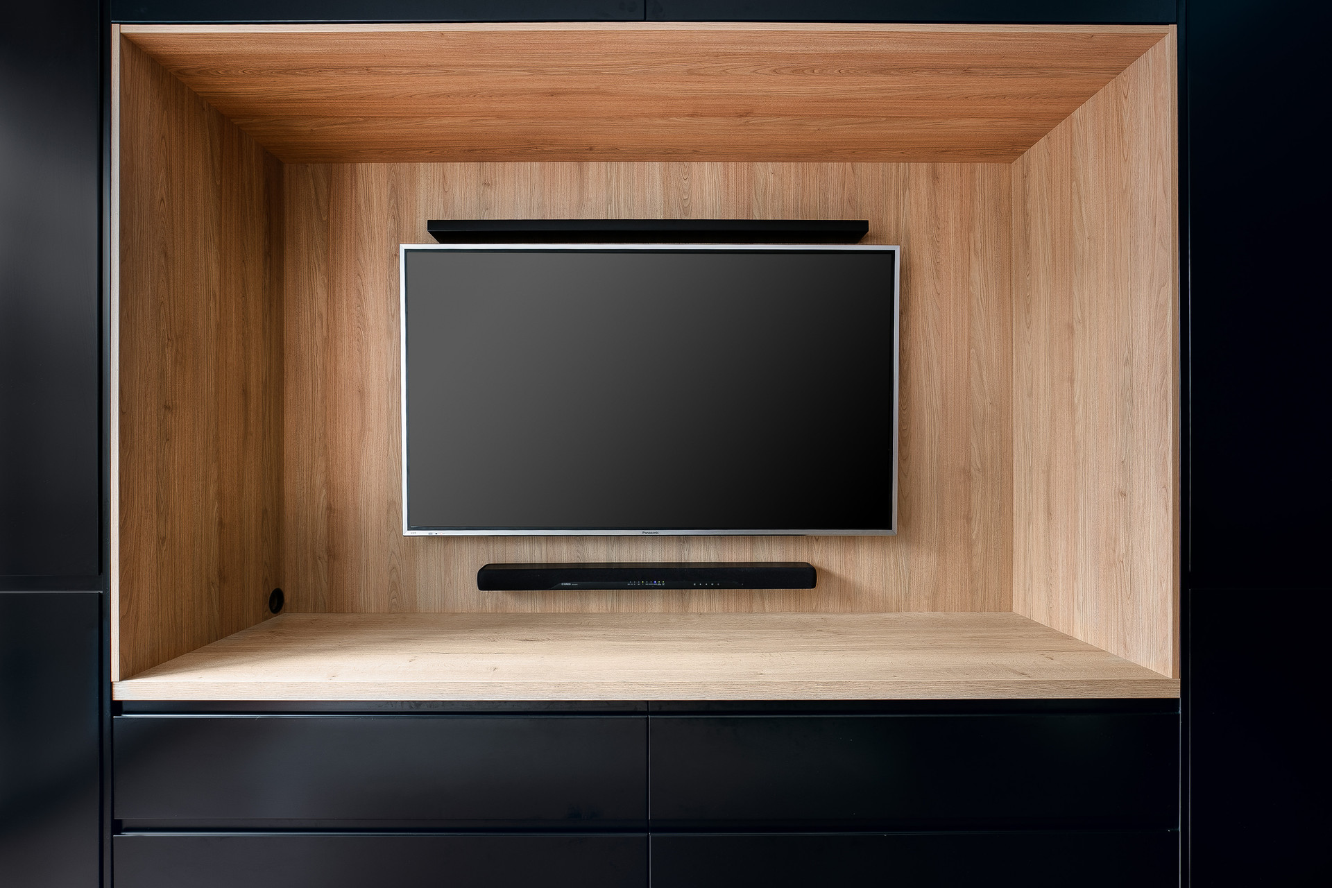 Kitchenworks Brookvale TV Unit Close Up