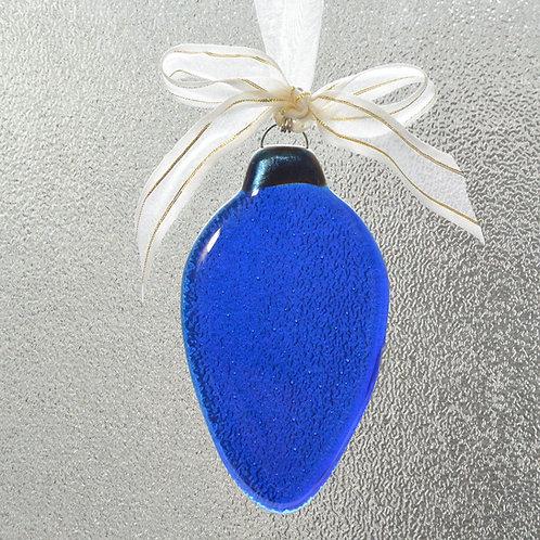 Blue Holiday Light