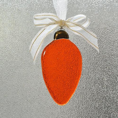 Orange Holiday Light