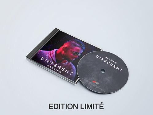 Album Massimo - Différent - EDITION LIMITÉ AVEC POSTER MASSIMO