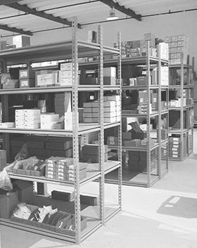 product warehouse fo building automation