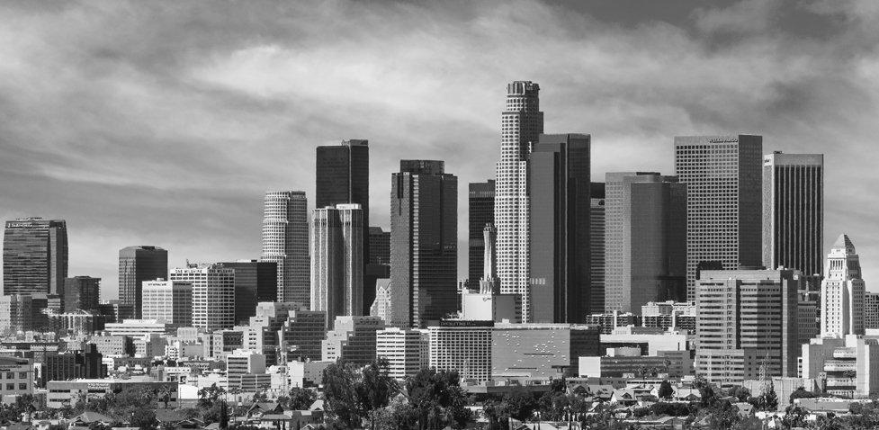 downtown skyline - intelligent buildings
