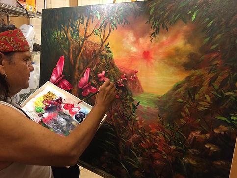 Xavier Yxayotl master painter
