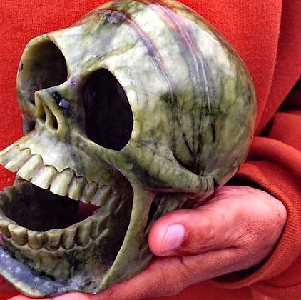 Chalchihuitl Green Stone Death Whistle