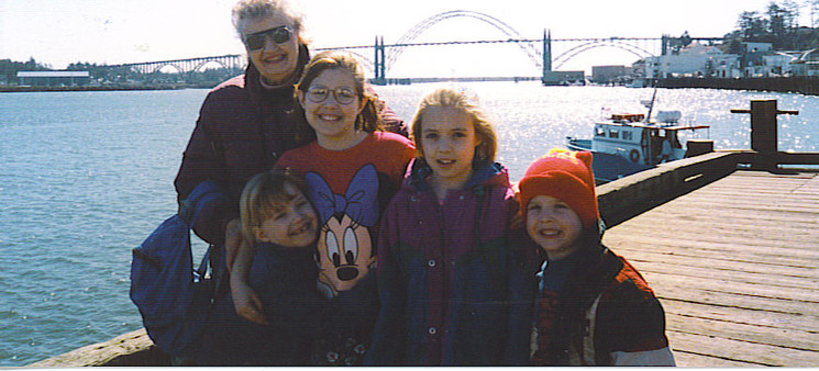 Grammer and Four Kids at the Harbor.jpg