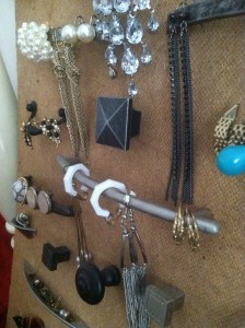Use What You've Got - Jewelry Board 3 - Gingham and Steel