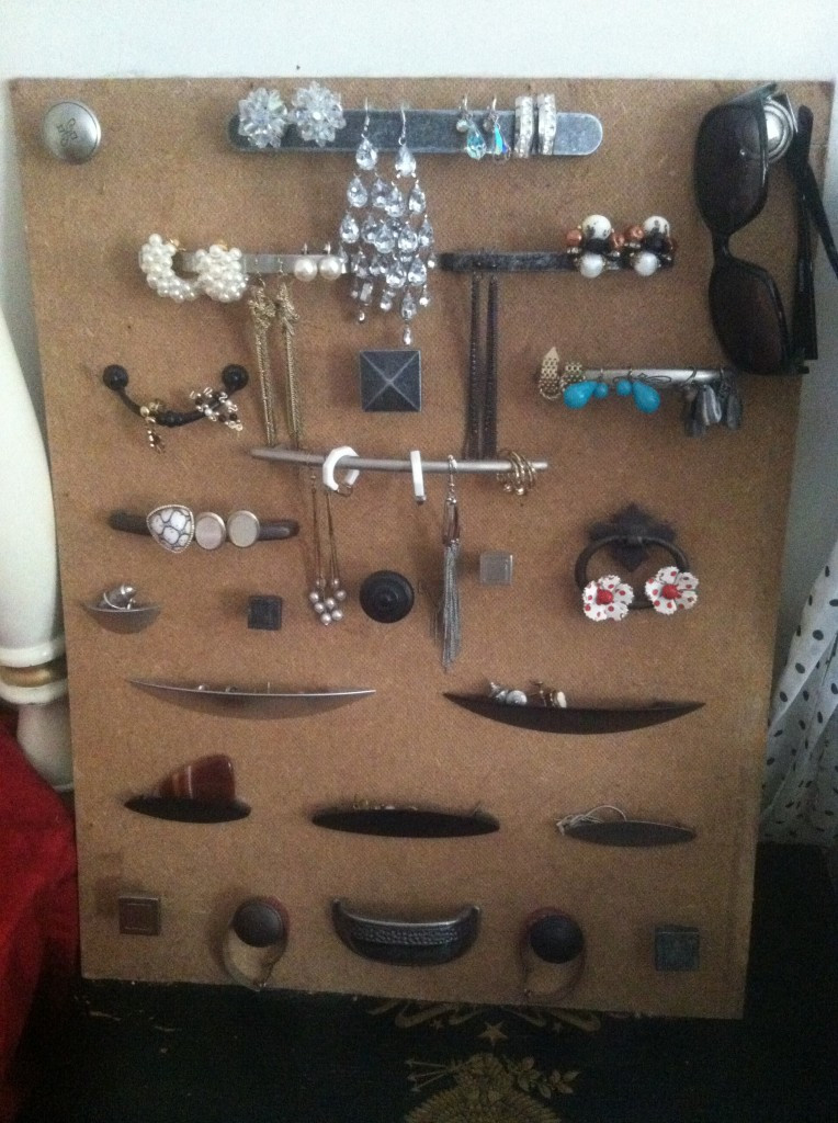 Use What You've Got - Jewelry Board 1 - Gingham and Steel