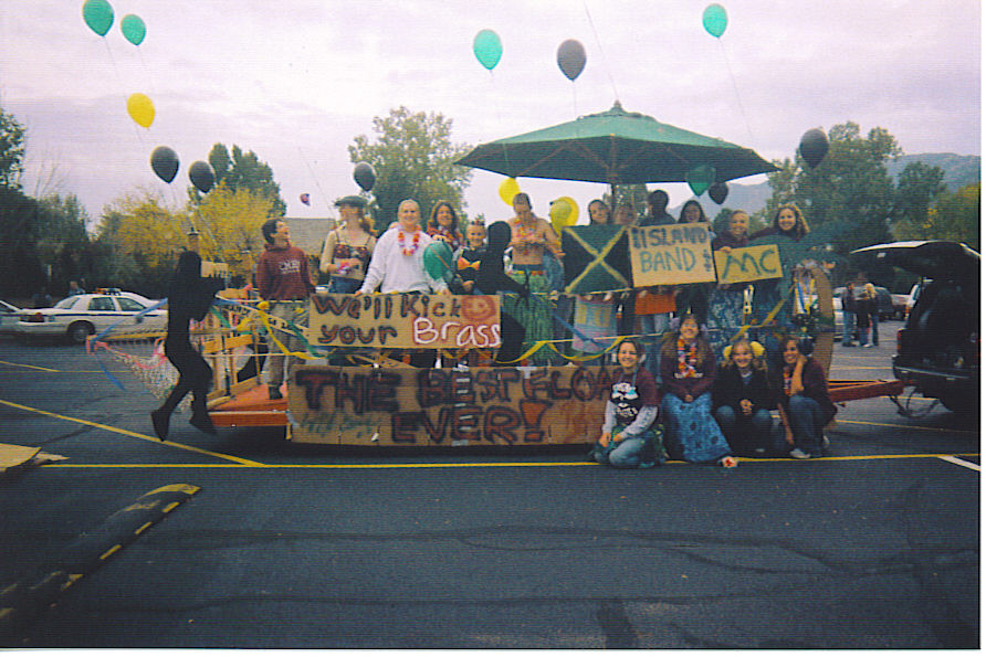 Jamaican Me Crazy Homecoming -- Band Float