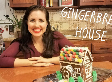 Gingham and Steel Bakes! Episode 8 – Gingerbread House