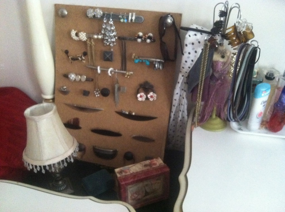 Use What You've Got - Jewelry Board 2 - Gingham and Steel