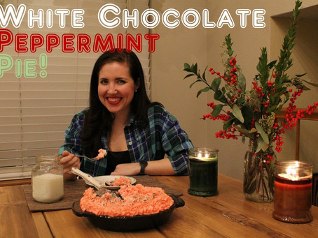 Gingham and Steel Bakes! Episode 7 – White Chocolate Peppermint Pie