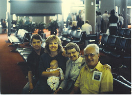 Grammer and Gramper, Mom, Dad, and Emily