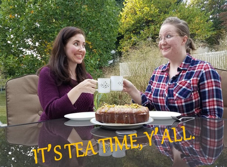 Gingham and Steel Bakes!  Episode 5: GBBO's Pistachio Cardamom Lemon Drizzle Cake