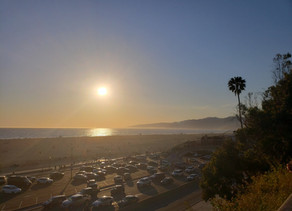 On the Bluffs of the Santa Monica Pier