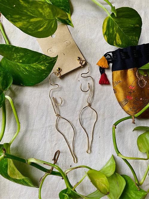 Silhouette Earrings: Kenya