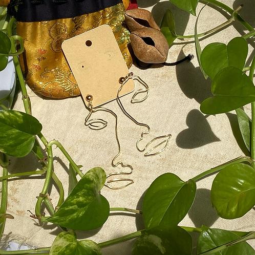 Silhouette Earrings: Cara