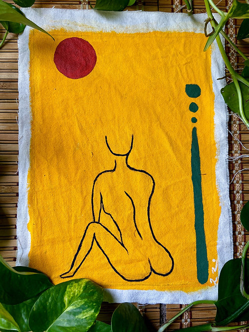 Silhouette Painting: Gambia