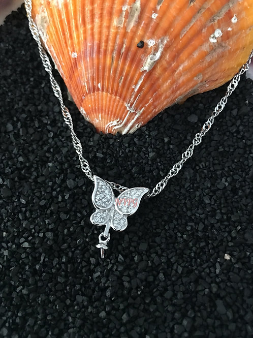 Butterfly mount with chain