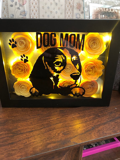 Pet Shadow Box Small ( personalized )