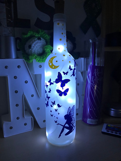 Fairy light bottle
