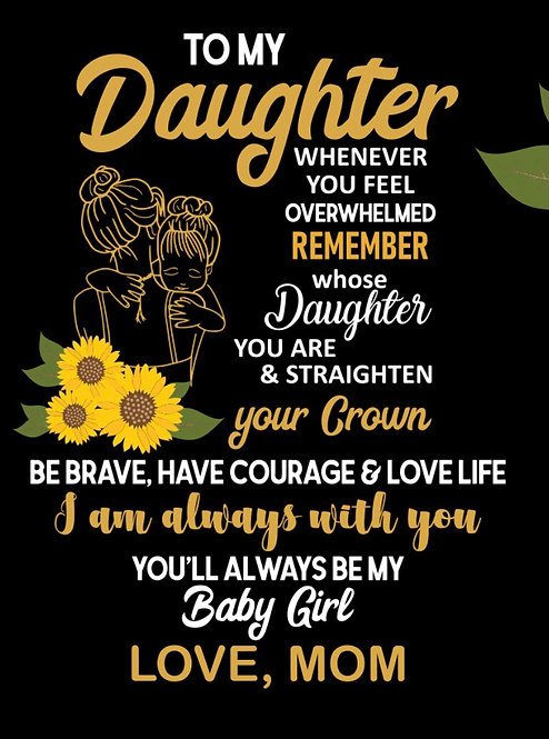 To my daughters shirt ( s, m , l xl)