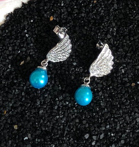 SS Angel wing w/teal