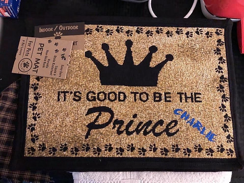 Prince Mat personalized