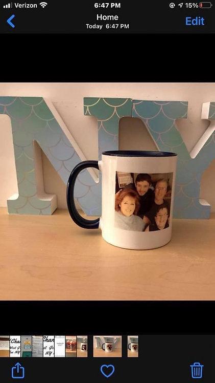 Mug with 2 photos